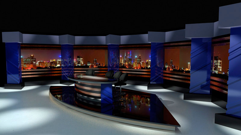 3d set visual of Statesmen Of Comedy