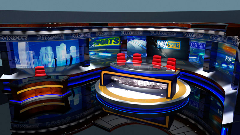 3d visual of fox Sports News