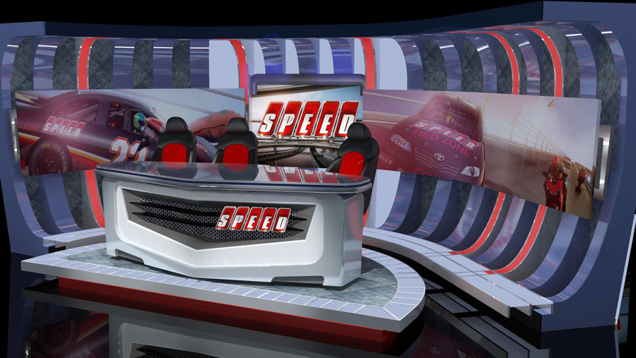 Speed set designed in 3d